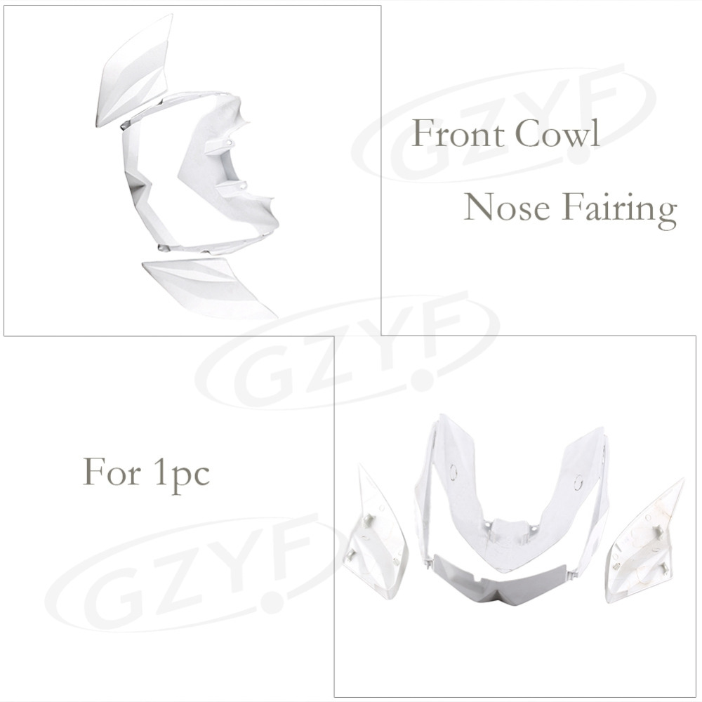 Aliexpress.com : Buy Unpainted Upper Front Cover Cowl Nose