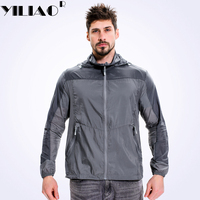 2018 Men S Summer Quick Dry Breathable Jackets Outdoor Sport Skin Windbreaker Camping Hiking Fishing Climbing