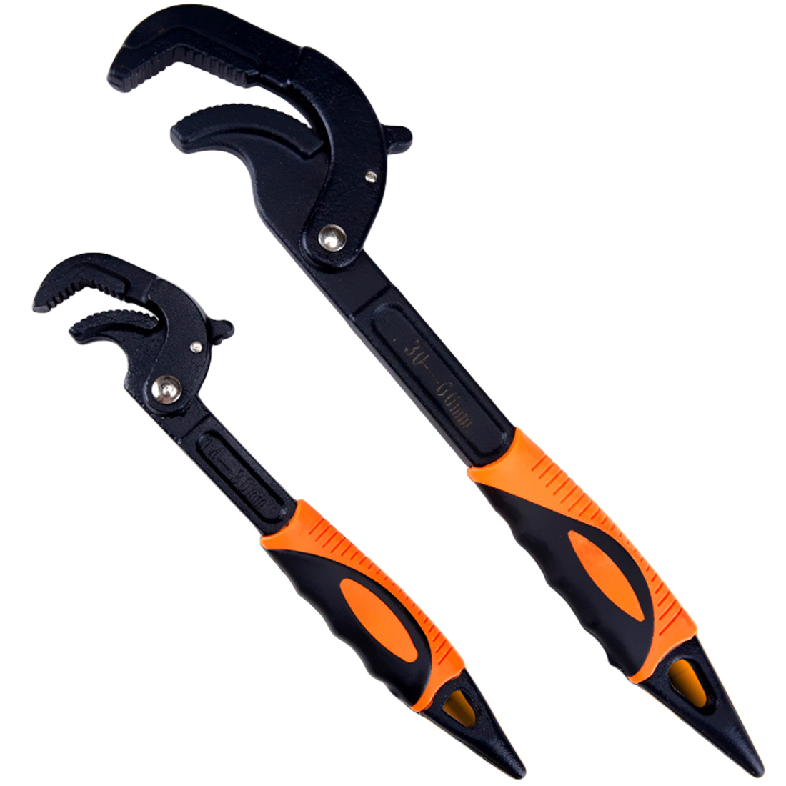 Universal Open End High Carbon Steel Snap and Grip Spanner Set