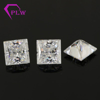 Provence jewelry 3ex VVS GH color look like diamond loose moissanite for ring bracelet necklace