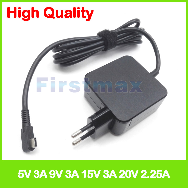 45W USB-C type C ac power adaper laptop charger for Asus Transformer 3 T305CA ZenBook Flip S UX370UA UX390UA UX370UAF EU Plug цена