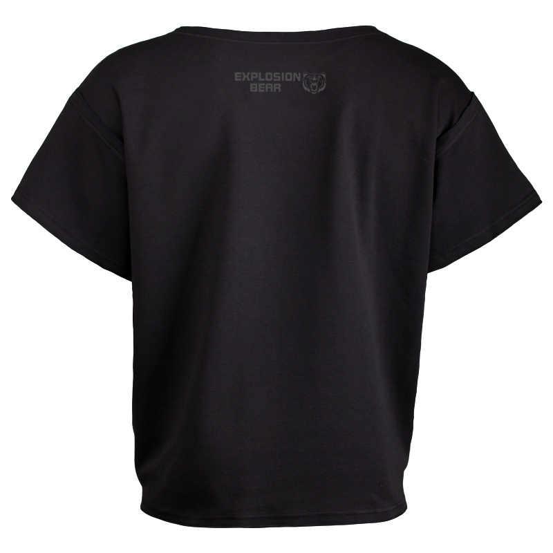 Летняя футболка спортивный костюм футболка мышечная рубашка тренды золото фитнес мужские Бодибилдинг футболки Gorilla рубашка рукав летучая мышь Rag Топы