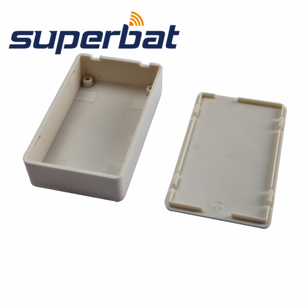 Superbat 5pcs Plastic Electronics Project Box Enclosure Case DIY  3 34