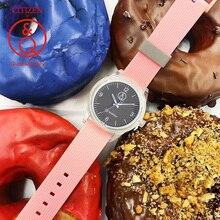 Citizen Q& Q часы для мужчин набор Топ люксовый бренд Водонепроницаемый Спорт кварцевые солнечные мужские часы унисекс Relogio Masculino reloj 0J007Y