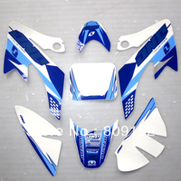 Blue White CRF 50 3M Sticker Decals Paster Graphic Of CRF50 Dirt Bike Pit Bike Use