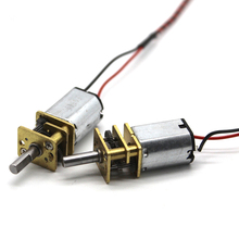 цена на 2PCS 12mm N20 3V~6V 210RPM 400RPM Gear Motor Speed Reduction DC Motor Electric Gear Box Gearwheel 3mm Shaft for DIY Car Model