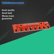 цена на 8bit Tracking Module Hunt module Infrared Detection Sensor Stable For Arduino 5V
