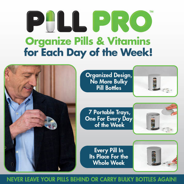 Deluxe доступным 7 Портативный лотки Pill Pro бутылки еженедельно Orgnizer коробка для таблеток медицина витамины яркие Цвет оригинальный $9,95