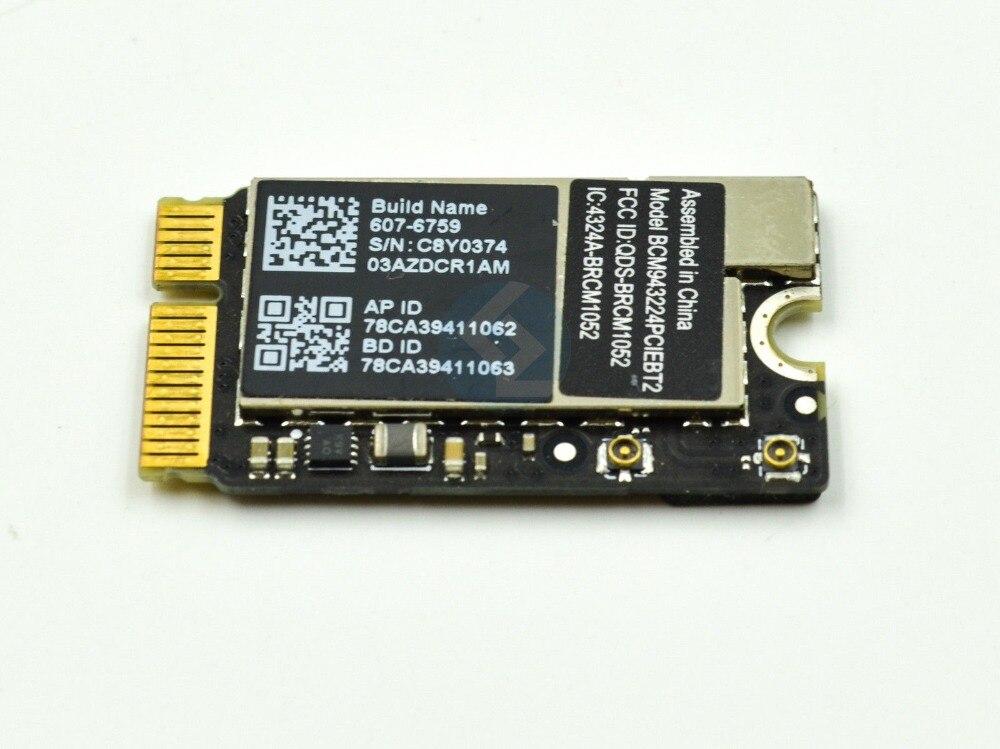 """Apple MacBook Air 11/""""A1370 13/""""A1369 WiFi Bluetooth AirPort Card BCM943224PCIEBT2"""