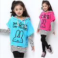 Fashion Girl Spring Clothing Set Autumn Girls Outfits Stripe T-Shirt And Pants Girls Wear Princess Girl Spring Clothing Set