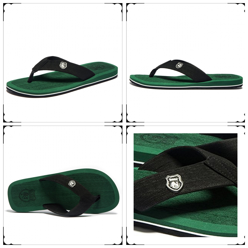Flip flops Summer Fashion Men Sandal Beach for Men and Women Flat - Kasut lelaki - Foto 3