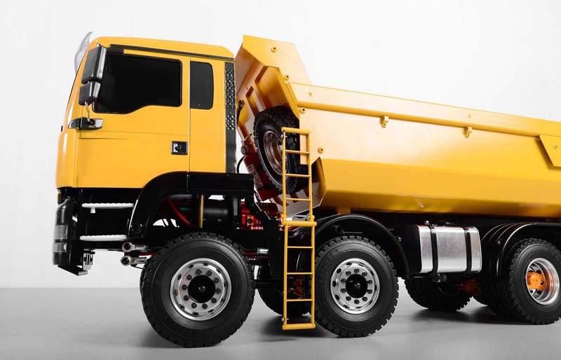 1/14 RC Hydraulic Dump Truck 8×8 Oil Tank