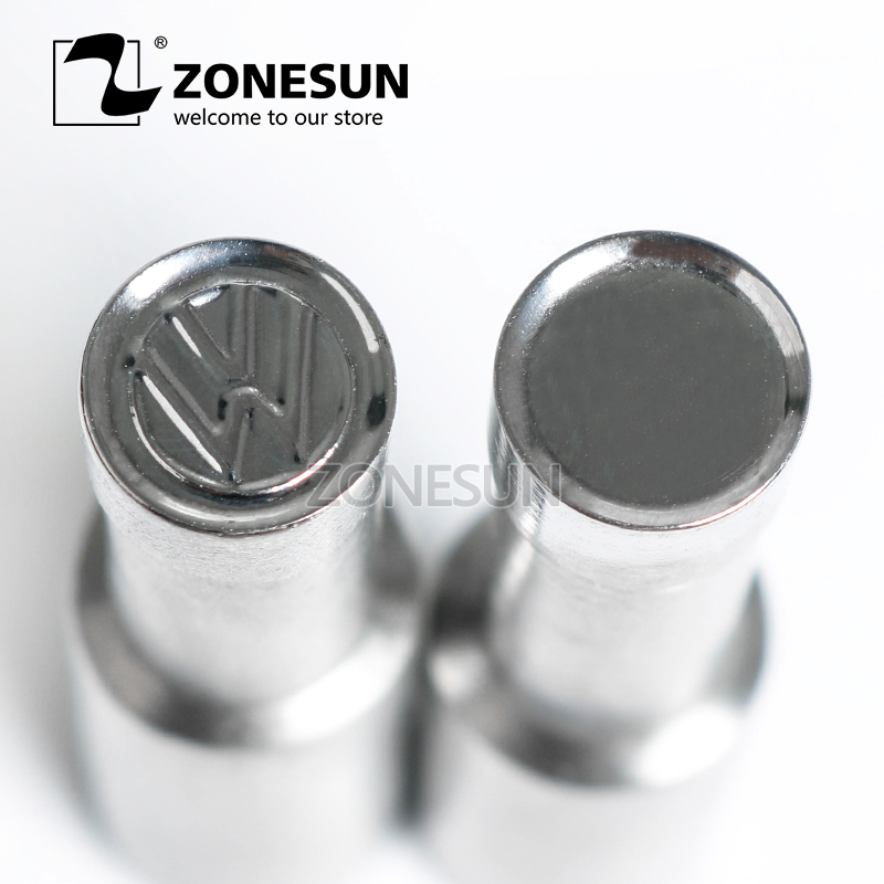 ZONESUN D shape Table Press 3D Punch Mold Candy Milk Punching Die Custom Logo For punch die TDP0/1.5/3 Machine FREE SHIPPING free shipping punching press mold 30mm free length green die moulds spring 10pcs lot