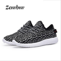 ZENVBNV 2018 Breathable Men Casual Shoes Woven Shoes Men Fashion Low Help Coconut Shoes Trainers For