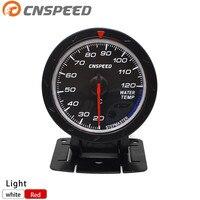 60MM DEFI CR Water Temp Gauge Red White Lighting Auto Meter Auto Gauge Tachometer Car Meter