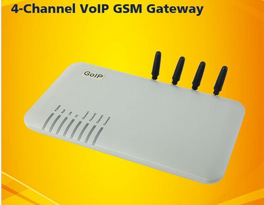 4 Channels 4 GSM VOIP Gateway GOIP-4 GOIP4 for Asterisk,Trixbox,3CX,SIP  Proxy Server,Voip Buster