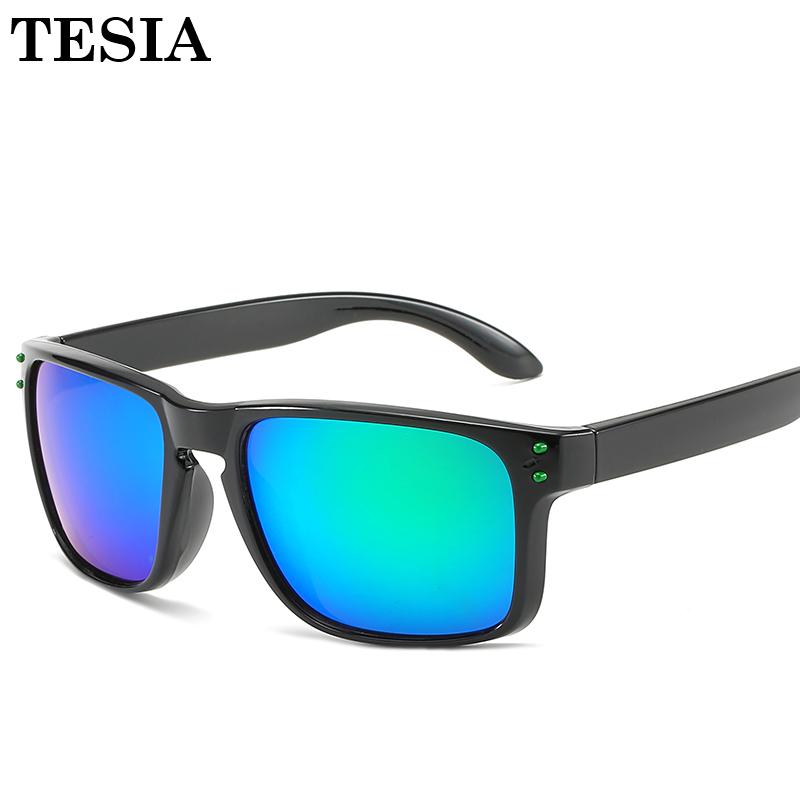 Vintage Square Sunglasses Men Women Rivets Sports Sun Glasses Mirrored Lens Glasses Lentes De Sol Drop Shipping
