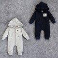 Высокое качество вышивки с капюшоном комбинезон восхождение одежды носить осенью и зимой пальто толстый кусок Romper