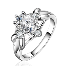 hot deal buy 925 sterling silver rings fine jewelry diamond jewelry vintage wedding rings crystal natural stone vintage fine jewelry r641