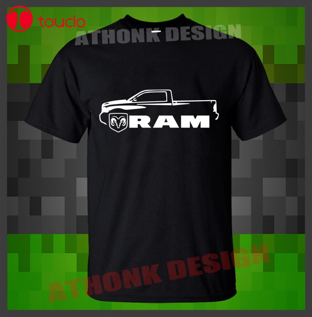 2019 Hot Sale Super Ram 1500 Hemi 5.7 T-Shirt Tee Srt Motorsports T-Shirt Cool Men T Shirt Sweater