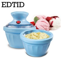 EDTID ice cream machine safe healthy and easy operation DIY snack food machinery fashion appearance One button Operation