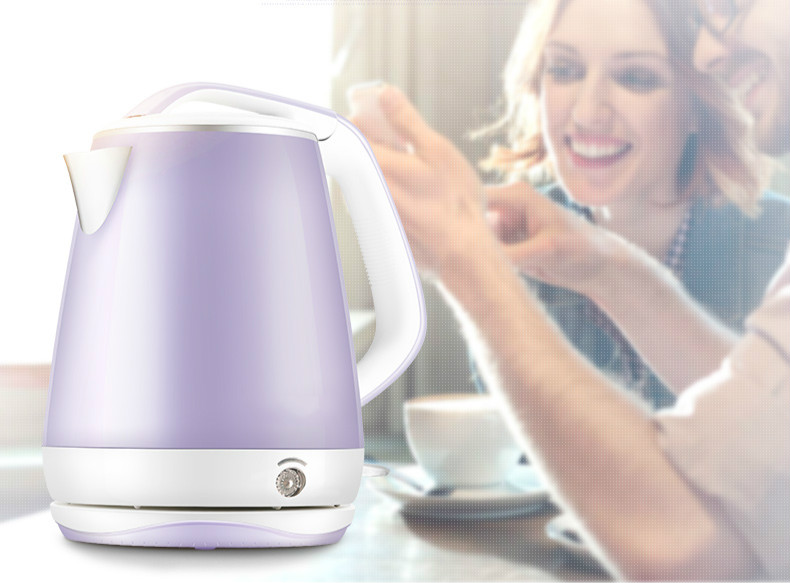 Electric kettle Household 304 stainless steel water - proof bottle Safety Auto-Off Function free shipping stainless steel electric kettle bottle safety auto off function