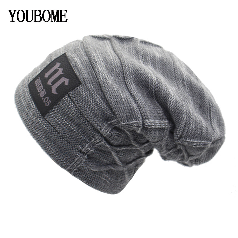 YOUBOME зимняя вязаная шапка Skullies Beanies Зимние шапки для мужчин и женщин маска брендовая шапка Gorros Bonnet теплая Балаклава шапка шапки