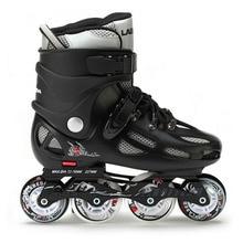 Labeda Slalom Inline Skates 4 Wheels Adult Skating Shoes With Rocking Type PU Wheels For Free Skating Sliding Street Skating