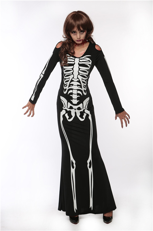 Black Skeleton dress (4)