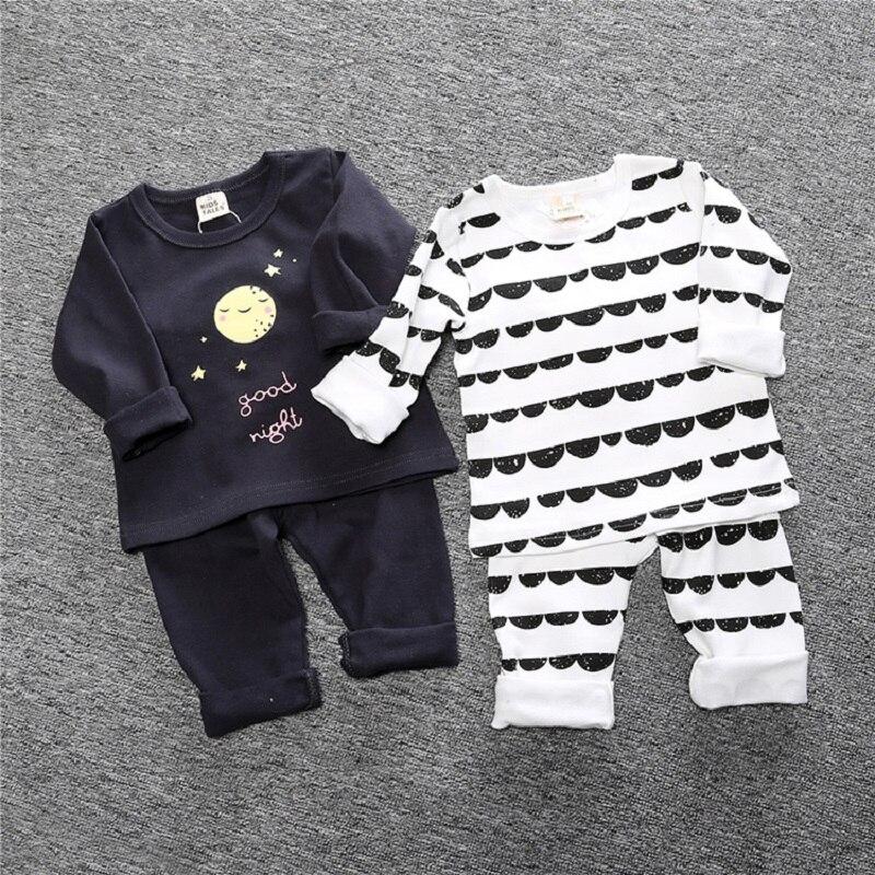 Kinder Geschichten Neue Herbst Winter Kinder Mädchen Pyjamas Sets Pyjamas Jungen Nachtwäsche Hause Kleidung Gedruckt Baumwolle Baby Nachtwäsche Bcc003 Weich Und Leicht