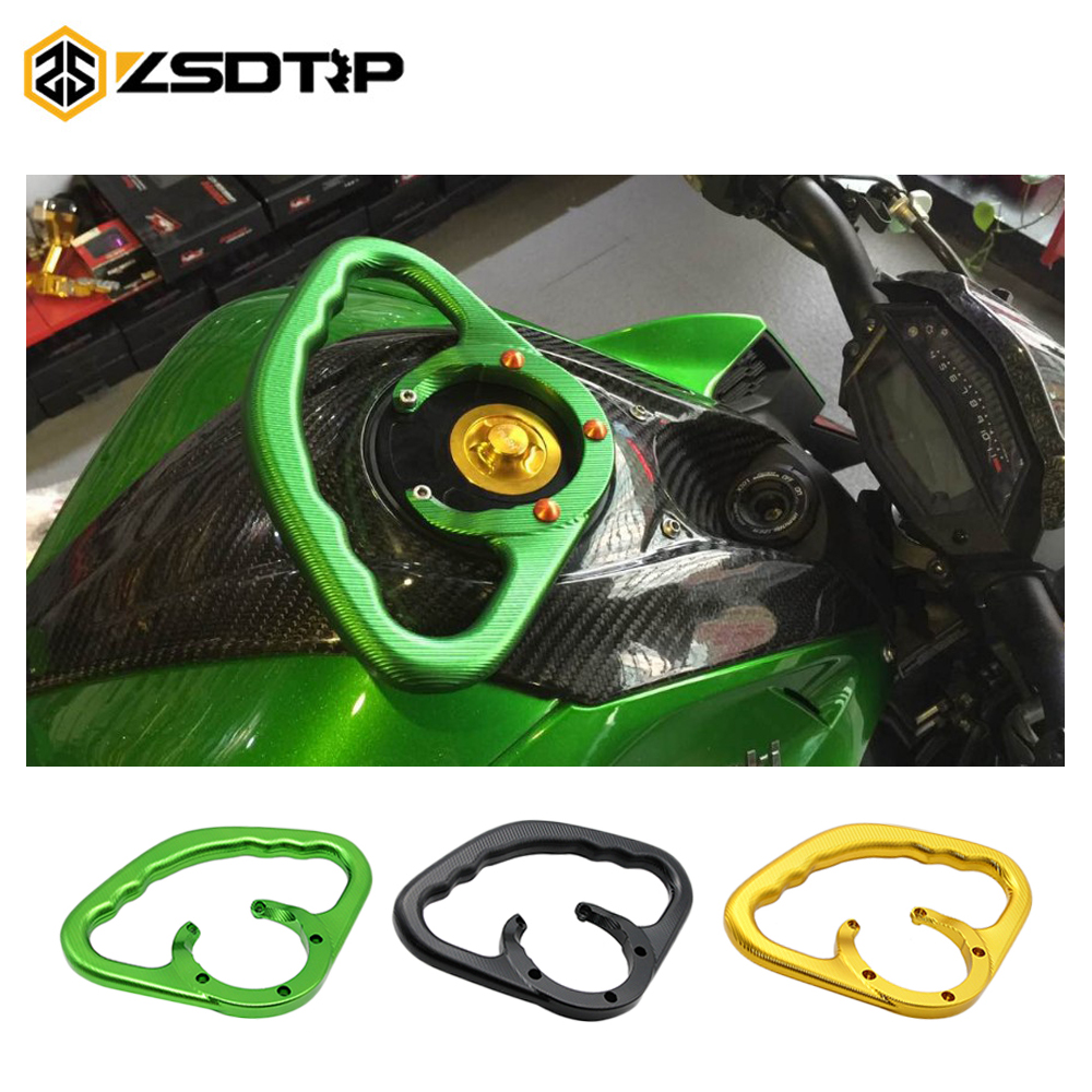 цена на Motorcycle Front Tank Handrails Rear Seat Drop Resistance Handrails Passenger Safety Handle For Kawasaki Z800 Z1000 ZX-6R ZX-10R