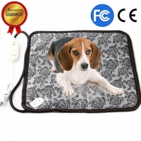 220V Pet Heating Pad Classic Pet Dog Cat Waterproof Electric Pad Heater Warmer Mat Bed Blanket