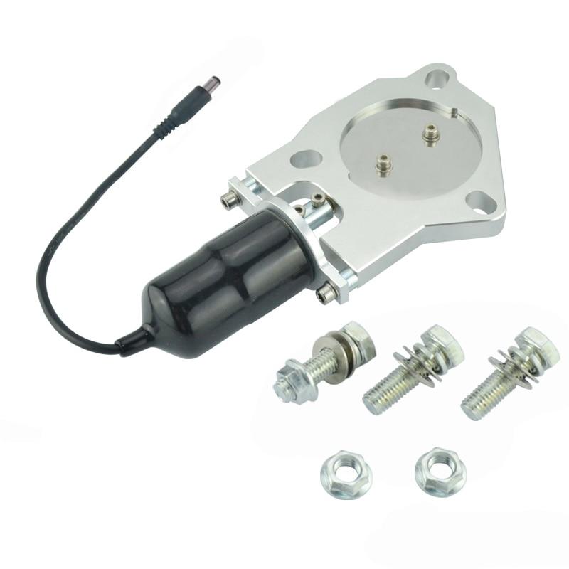 ESPEEDER 2,5 hüvelykes elektromos rozsdamentes kipufogó kivágás - Autóalkatrész - Fénykép 5