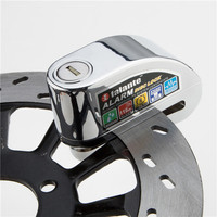 Free Delivery New Security Protect Anti Motorcycle Thief Electric Bike Scooter Wheel Brake Disc Alarm Lock