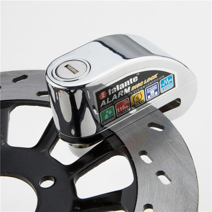 Bike Alarm Disc Lock Anti-theft Brake Disc Security Alarm Electron Lock 6mm Pin for Motorcycle Motorbike Safety Bicycle