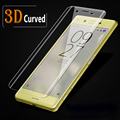 For Xperia XZ 3D Full Screen Coverage Tempered Glass For Sony Xperia X Compact XA Ultra Full Covered Screen Protector Film