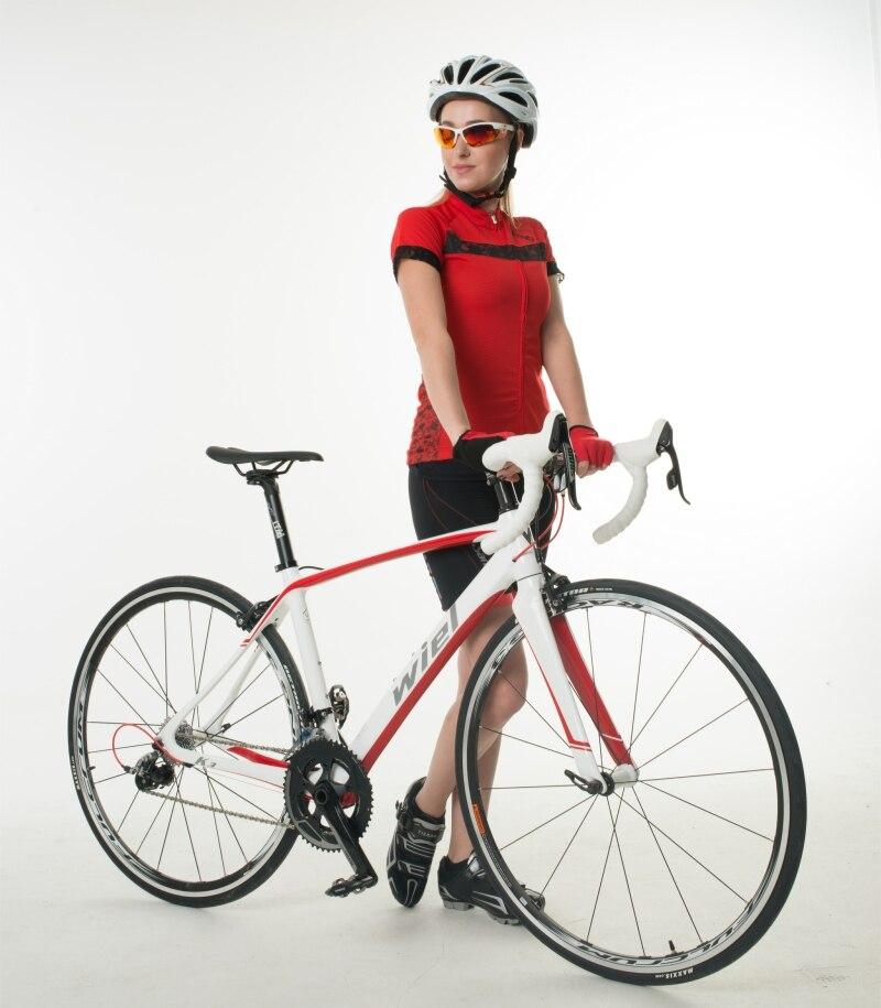WIEL K3 700C vélo de route cadre en Fiber de carbone/fourche/tige de selle vélo vélo 22 vitesses SHIMANO 105 5800 groupe roues Fulcrum