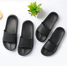 sunny everest home slides women family shoes waterproof Non-slip couple bathroom soft bottom slippers 44/45