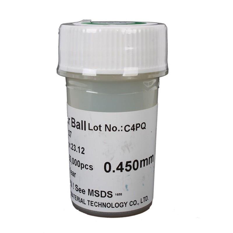 PMTC 250k 0.20,0.25,0.30,0.35,0.40,0.45 mm BGA solder balls with lead for repair and repair of BGA rework welding pmtc 250k 0 5mm leaded free bga solder ball for bga repair