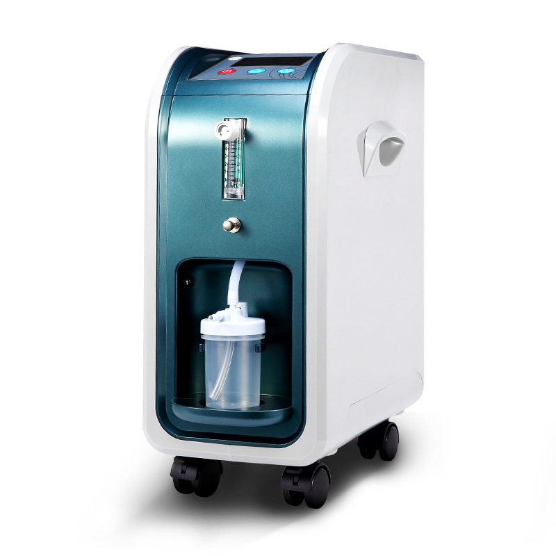 130W Power 1-5L/MIN 15 Lpm Electric Oxygen Machine Portable Atomizing Oxygen Concentrator With Timing Oxygen Generator