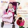 New Baby Sleeping Bag Baby Stroller Sleeping Bag Winter Warm Sleepsacks Robe For Infant wheelchair envelopes for newborns
