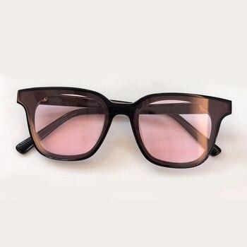 Gafas De Sol Cuadradas Señoras Vintage Marco Grande Gafas De Sol Mujeres Negro Marco Vintage Gafas De Sol Oculos 2019
