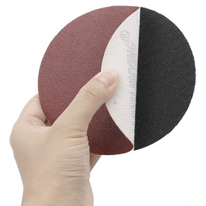 Image 3 - Red Circular Polishing Discs 5pcs 10pcs 125mm With Grits Felt Wheel Polishing Sharpening Sand Paper Tool Accessories