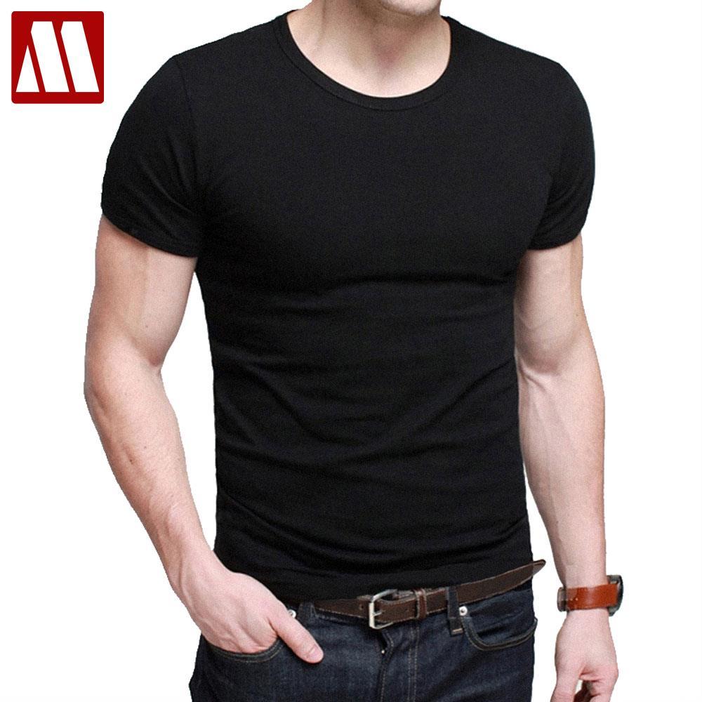 Shirt design with collar - 2017 Man S Designer Brand New Short Sleeve T Shirts Fitness Men Fashion Flexible Cotton Casual