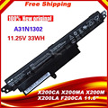 "NEW Original laptop battery for A31N1302 A31LM9H X200CA Series, 0B110-00240100E X200CA F200CA 11.6"" Series"