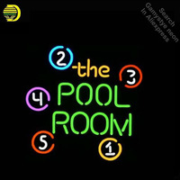 Neon Sign for THE POOL ROOM Neon Light Sign Game Room Display Pirate signs Neon Tube Sign handcraft Publicidad lamps Custom