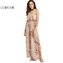 COLROVIE Floral Two Piece
