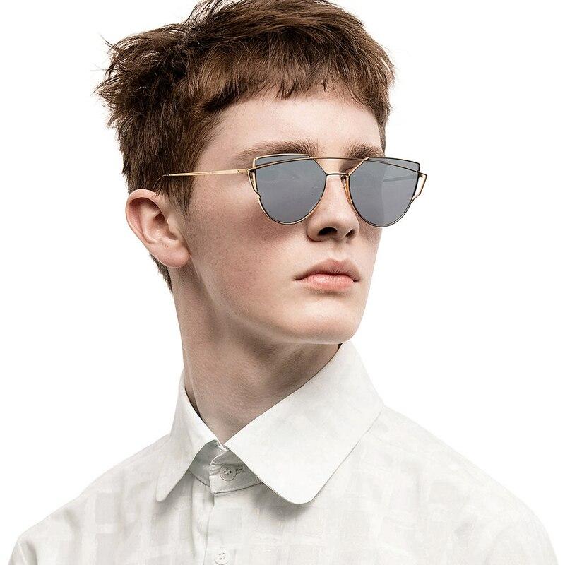 1ec1b0bf29fd Plated Polarized Eye Sunglass Women Futurism Sunglasses Cat Gold vqRxZq