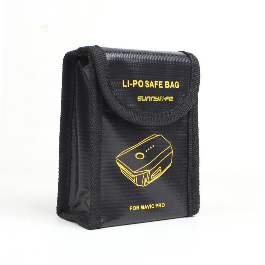Mooistar #4005 LiPo Li-Po Battery Fireproof Safety Guard Safe Bag 185*75*60MM