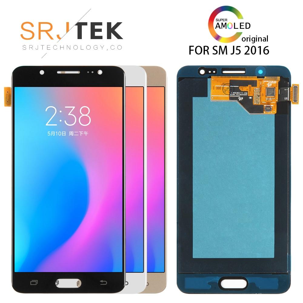 100% Original Amoled LCDs For Samsung Galaxy J5 2016 J510 LCD J510F J510FN J510M J510Y J510G Touch Screen100% Original Amoled LCDs For Samsung Galaxy J5 2016 J510 LCD J510F J510FN J510M J510Y J510G Touch Screen